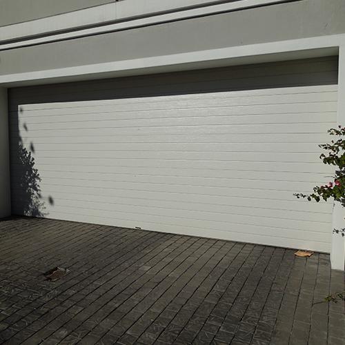 Horizontal Slatted Steel Garage Doors Doors Galore