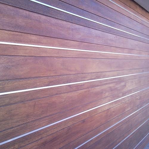 Horizontal Slatted Timber Garage Doors Doors Galore