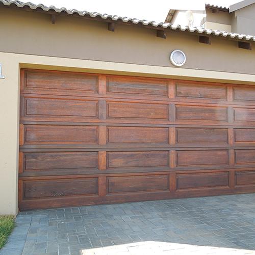Raised And Fielded Timber Garage Doors Doors Galore